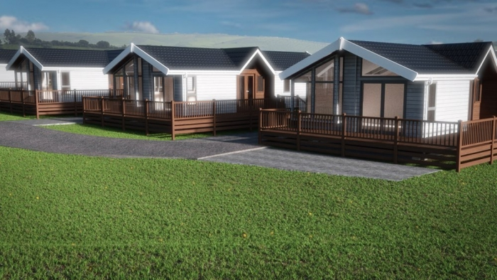 Luxury Lodges for sale Wales, see view